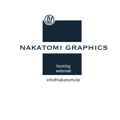 Solution d'hébergement - logo  nakatomi graphics